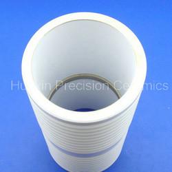 Metallized ceramic tube
